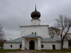 Церковь Успения у парома. Псков. 16 в. (в совр. виде)  Купол 18 в.