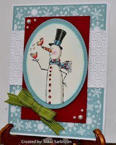 Merry Monday #27 card by Mikki Sarkisyan