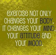 Exercise is my therapy!