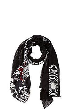 Desigual Mixto Geofresh - Foulard - Imprimé - Femme - Noir (Negro) - Taille unique (Taille fabricant: Taille unique) Desigual http://www.amazon.fr/dp/B00VMB3ER2/ref=cm_sw_r_pi_dp_VuY7vb0S5V1V7