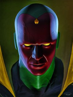 Vision by Daniel Scott Gabriel Murray * Marvel Dc Comics, Marvel Comic Universe, Comics Universe, Marvel Heroes, Marvel Avengers, Marvel Comic Character, Marvel Comic Books, Comic Book Characters, Marvel Characters