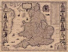 British population history has been shaped by a series of immigrations, including the early Anglo-Saxon migrations after 400 CE. It remains an open question how these events affected the genetic composition of the current British population. Map Crafts, Medieval World, Treasure Maps, Old Maps, Iron Age, Vintage Maps, Anglo Saxon, Cartography, Middle Ages