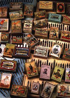 vintage nib boxes.