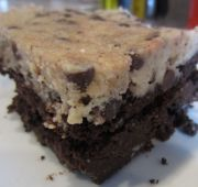 Cookie Dough Brownies...sound delicious!