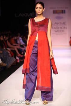 Shruti Sancheti at Lakme Fashion Week W/F 2013