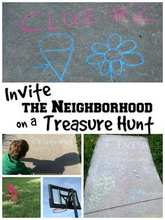 Invite the Neighborhood Treasure Hunt
