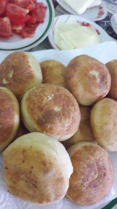 Pofuduk Pişi | İzmirdenlezzetler Pretzel Bites, Hamburger, Bread, Brot, Baking, Burgers, Breads, Buns