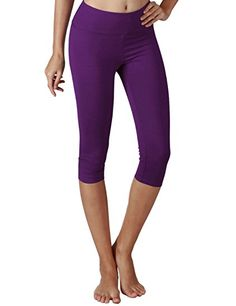 Yogareflex Women's Tummy Control Active Tights Yoga Running Leggings Capris Yogareflex provides high quality products at reasonable prices. As a leading company in active wear, we pioneer the best design to satisfy customer's daily life. C-LEX a functiona Running Leggings, Girls In Leggings, Tight Leggings, Yoga Leggings, Athletic Pants, Athletic Women, Athletic Wear, Yoga Capris, Fashion Deals