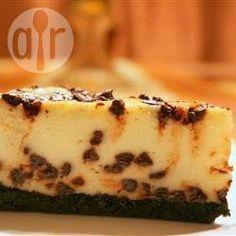 Cheesecake com gotas de chocolate @ allrecipes.com.br
