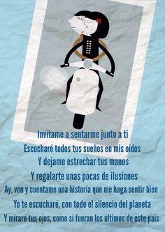 Sesenta y nueve... No dejes que la noche caiga, no dejes que el sol salga, solo.... Las flores de Café Tacuba .  http://youtu.be/BPMB4fWRd6U
