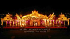 Picture from Chandrika Decorations Photo Gallery on WedMeGood. Browse more such photos & get inspiration for your wedding Red Wedding Receptions, Wedding Mandap, Wedding Stage Decorations, Wedding Events, Balloon Decorations, Flower Decorations, Wedding Decor, Rustic Wedding, Wedding Gifts