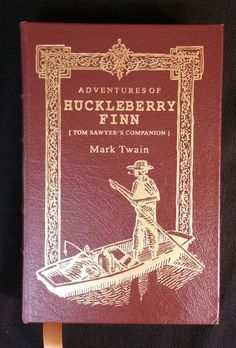 Adventures of Huckleberry Finn Tom Sawyer's Companion Illustrated-Edited-Leather