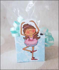 """Parties and Patterns: Homemade Party Favor Candy Cup """"Ballerina"""""""