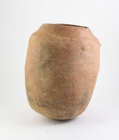Pacific & African Artefacts n\Pre Columbian Clay Vessel simple cylindrical form 37cm Height / MAD on Collections - Browse and find over 10,000 categories of collectables from around the world - antiques, stamps, coins, memorabilia, art, bottles, jewellery, furniture, medals, toys and more at madoncollections.com. Free to view - Free to Register - Visit today. #Pacific #Artefacts #MADonCollections #MADonC