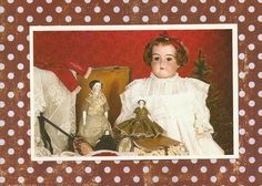 Armand Marseille Beauty  Vintage Postcard ready to by artsygemini, $0.75