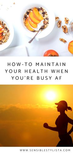 Being busy isn't an excuse to overlook your health, which is why you should check out Sensible Stylista's latest post on how to maintain your health when things get crazy hectic.    #healthyliving #health #healthtips #stayhealthy