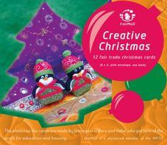 Creative Christmas Cards | @FairMail - Fair Trade Cards  - X306-E