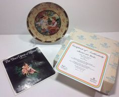VILLEROY BOCH Heinrich Once Upon A Rhyme Roses Are Red Plate Box COA EUC NOS
