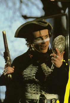 Adam Ant (Adam & The Ants) from Flexipop (Issue #6, 1981)