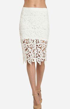 Venetian Lace Skirt