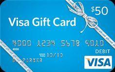 $50 visa gift card -Free Gift Cards   freeeeeeeeeeeee use it for christmas