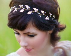 tiara tiara de perlas tiara de la boda tiara nupcial por TopGracia