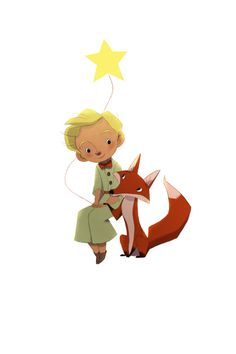 Love little prince Little Prince Quotes, The Little Prince, Painting For Kids, Art For Kids, Book Illustration, Illustrations, Prince Drawing, Doodle Frames, Cute Wallpapers