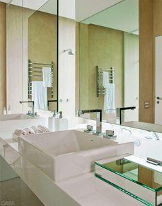 4 banheiros de impacto para te inspirar - Casa
