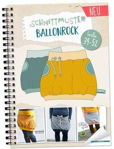 NEU: Lybstes Ballonrock Schnittmuster, E-Book Gr. 34-52