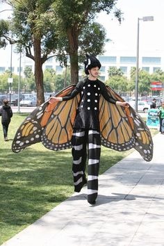 Man or Monarch? (2010 NHM Bug Fair by The Natural History Museum of Los Angeles County)