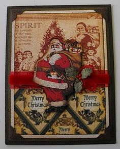 Graphic-45: Santa Card... by T.Ilnicki