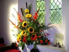 Church Flower Festival : Autumn