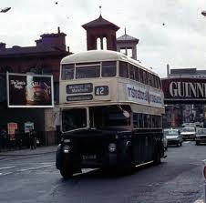 Dublin Bus 1960s Dublin, Buses And Trains, Ireland Homes, Old Photos, Signwriting, Irish Art, Coaches, Kai, 1960s