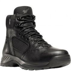 28017 Danner Men's Kinetic Uniform Boots - Black www.bootbay.com