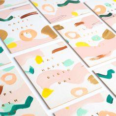 Moglea Yay Birthday - Single Card $6.00