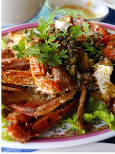 Cambodian Kampot Pepper Crab