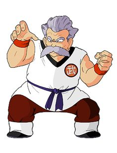 Dragon Ball - Mutaito - Maestro de Rochi - vivió en la Tierra 300 años antes de la historia de Dragonball y durante su época fue considerado (al igual que el Maestro Roshi) como el mejor maestro de artes marciales y el hombre más fuerte de la Tierra incluso mas fuerte que el maestro Roshi.