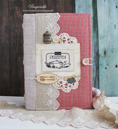"""Купить Кулинарная книга """"Мои рецепты"""" - кулинарная книга, кулинарный блокнот, книга для рецептов"""