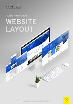Tremedia - web design #madebytremedia Website Layout, Aurora, Web Design, Web Layout, Design Web, Northern Lights, Website Designs, Site Design