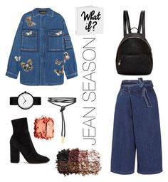 """JEAN OBSESSION"" by irinamariachiva on Polyvore featuring Valentino, Sea, New York, STELLA McCARTNEY and LORAC"