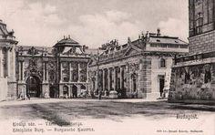 Buda -Főőrségi épület - Oroszlános kapu - 1910
