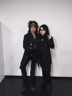 Hanging with HYDE from @VAMPS_JPN backstage in Tokyo.