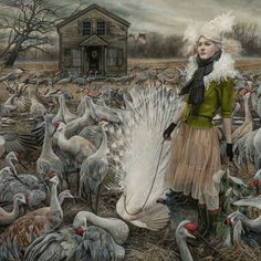 The Courtiers by Andrea Kowch