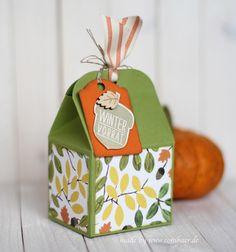 www.conibaer.de - Acorn box / Eichel / Wintervorrat Box #stampinup #acornythankyou #herbstgrüße