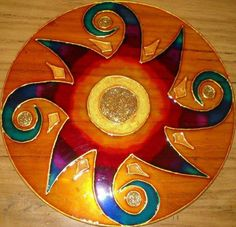 1 million+ Stunning Free Images to Use Anywhere Old Cd Crafts, Diy Arts And Crafts, Faux Stained Glass, Stained Glass Patterns, Mandala Design, Mandala Art, Cd Recycle, Recycled Cds, Cd Diy