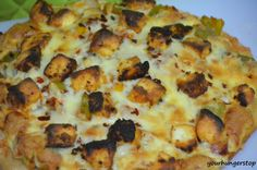 Whole Wheat Paneer Tikka Pizza
