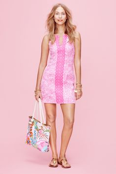 Pink shift dress Lilly Pulitzer x Target Collection  - TownandCountryMag.com