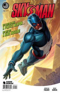 Skyman returns to the skies as part of Dark Horse Comics' 'Project Black Sky' - Los Angeles Comic Books   Examiner.com