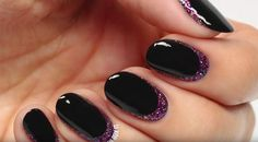 Add Some Glam To This Classic Nail Design With This Tutorial