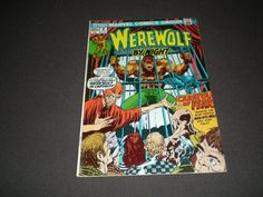 Werewolf by Night 6, (1973), Marvel Comics by HeroesRealm on Etsy